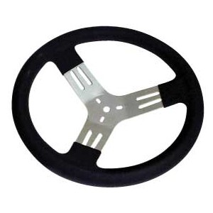"PRO-TEK 13"" DISHED STEERING WHEEL"
