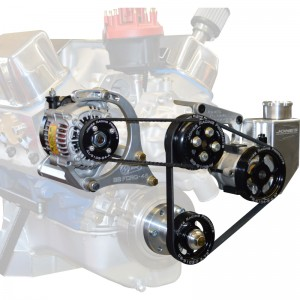JONES RACING PRODUCTS COMPLETE SB FORD BELT DRIVE SYSTEM