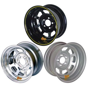 AERO 50 SERIES ROLL FORMED IMCA WHEEL - 15 INCH BY 8 INCH WIDE