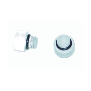 AED CLEAR BOWL SIGHT PLUGS