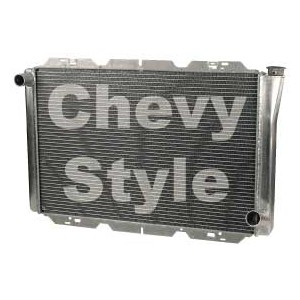 AFCO CHEVY SINGLE PASS ALUMINUM RADIATOR