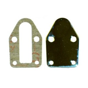 PRO-TEK SBC FUEL PUMP BLOCK OFF PLATE