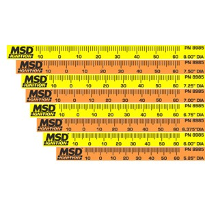 MSD TIMING TAPES