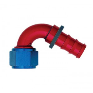 120° PUSH-ON HOSE END