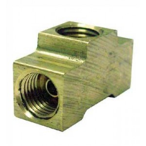 "PRO-TEK 3/16"" INVERTED TEE BRAKE FITTING"
