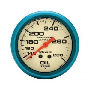 AUTO METER  ULTRA-NITE OIL TEMP GAUGE