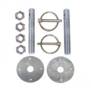 ALUMINUM HOOD PIN KIT