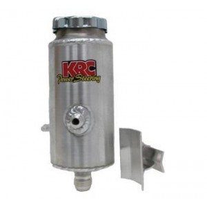 KRC ALUMINUM ROUND POWER STEERING TANK