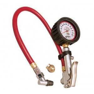 "LONGACRE 2-1/2"" QUICK FILL TIRE GAUGE"