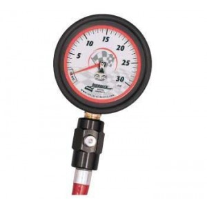 "LONGACRE 2-1/2"" DELUXE AIR GAUGE"