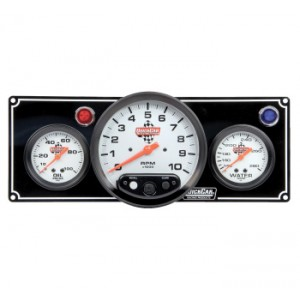 QUICKCAR GAUGE PANEL WITH TACH