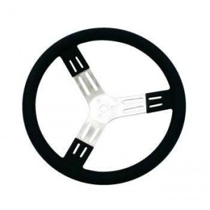 "PRO-TEK 17"" DISHED STEERING WHEEL"