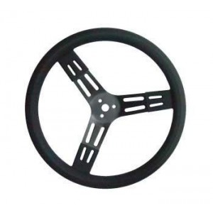 "PRO-TEK 15"" DISHED STEERING WHEEL"