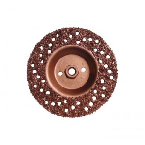 "PRO-TEK 7"" TIRE GRINDING DISK  WITH NUT"