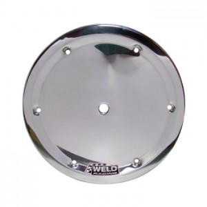WELD 6 HOLE MUD COVER WITH BUTTONS